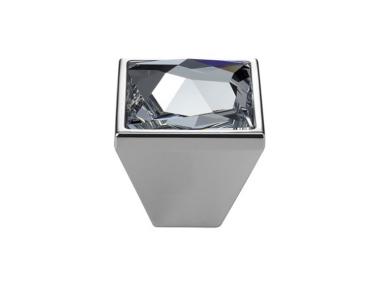 Pomolo Mobile Linea Calì Pop-Art PB con Cristalli Swarowski® Cromo Lucido