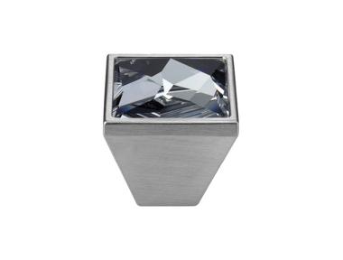 Pomolo Mobile Linea Calì Pop-Art PB con Cristalli Swarowski® Cromo Satinato