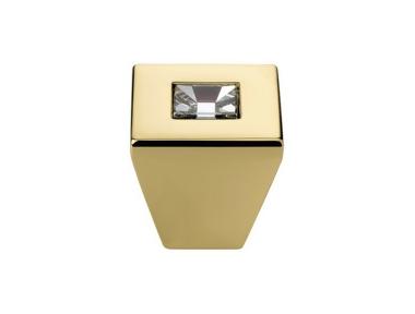 Pomolo Mobile Linea Calì Reflex PB con Cristalli Swarowski® Oro Zecchino