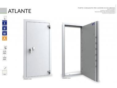Porta Corazzata per Caveaux e Camere di Sicurezza Atlante Bordogna