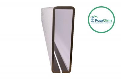 Rinforzo in Acciaio per Controtelaio Klima Pro PosaClima 12x40 mm