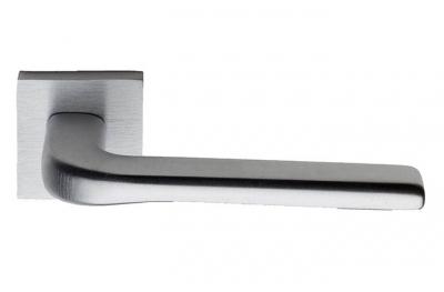 Siena su Rosetta Quadrata Fashion PFS Pasini Maniglia per Porta