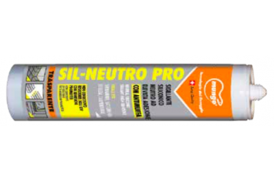 Sil Neutro Pro Silicone Neutro Antimuffa Serramenti Carpenteria Mungo
