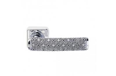 Silver Dream 2 Jewellery PFS Pasini Maniglia per Porta con Rosetta e Bocchetta