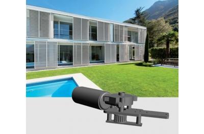 Slide 200 24Vdc Chiaroscuro Kit Automazione per Persiane Scorrevoli Max 300Kg