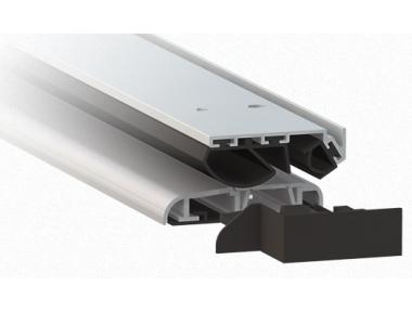 Soglia in Alluminio Anodizzato Argento 1375 Comaglio Serie Universal