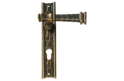 Stile Antico Galbusera Maniglia per Porta su Placca
