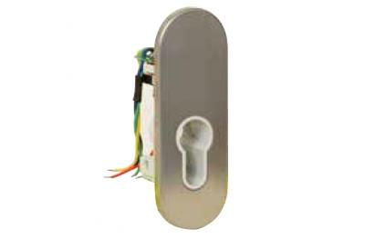 Supporto con Microinterruttore per Cilindro Sagomato 55040 Serie Profilo Opera