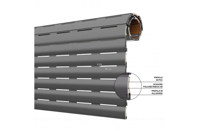 AriaLuceTherm Tapparella PVC e Alluminio Coibentato Spazio ad Aria e Luce