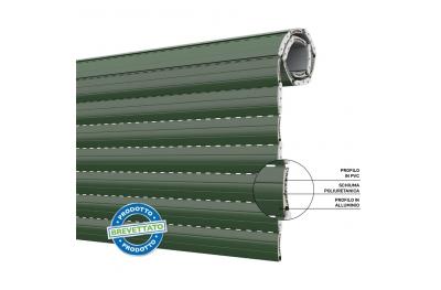 Tapparella Duero 55 Avvolgibile a Risparmio Energetico in Pvc e Alluminio