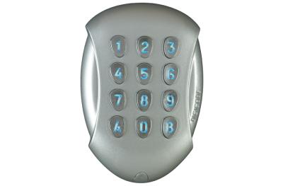 Tastiera Antivandalo Autonoma GALEO Bluetooth Retro-Illuminata DIGICODE 3 Relè in Lega di Alluminio Controllo Accessi CDVI