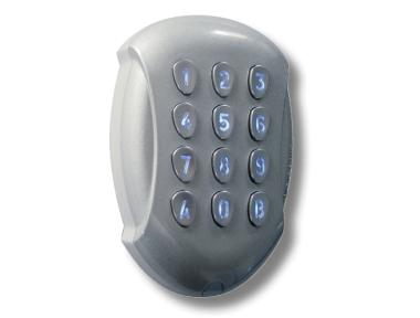 Tastiera Radio Frequenza Antivandalo GALEOR Retro-Illuminata DIGICODE Controllo Accessi CDVI