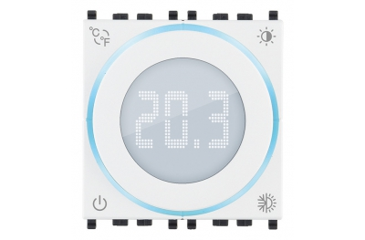 Termostato Rotella Connesso IoT 2 Moduli Vimar