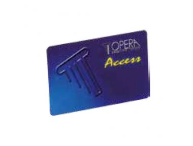 Tessera a Banda Magnetica per Controllo Accessi 55615 Serie Access Opera
