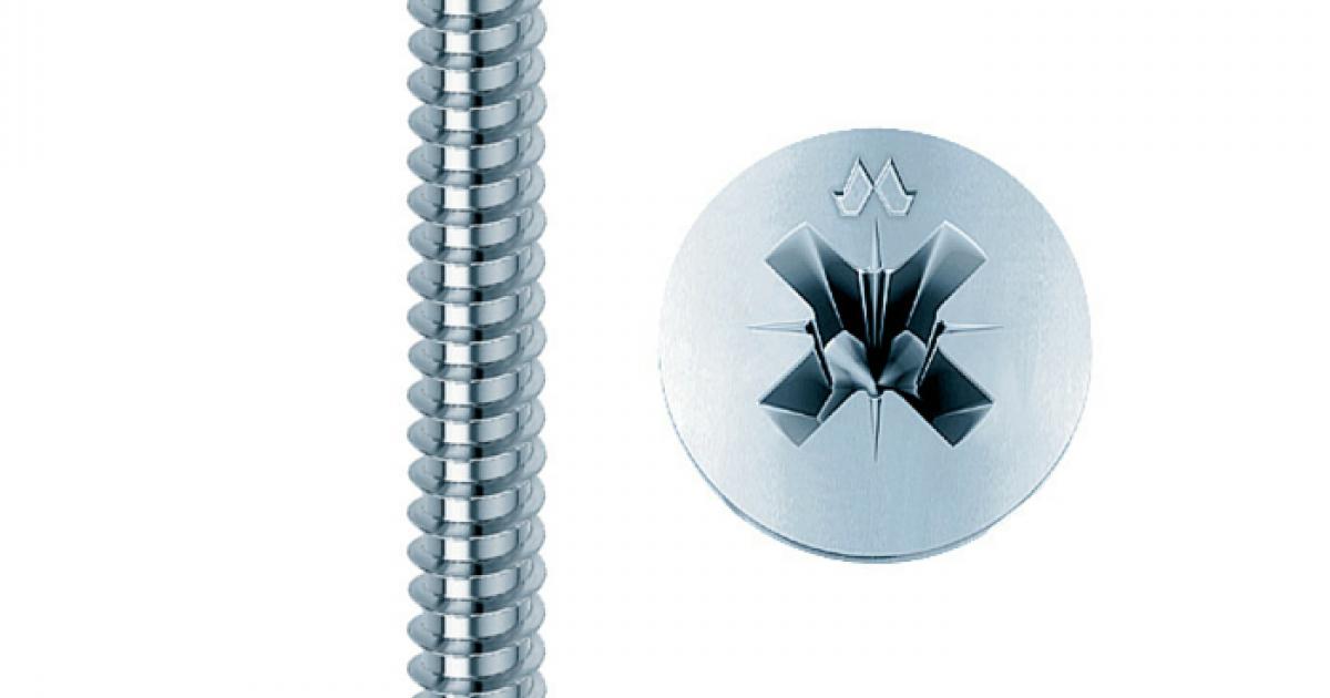 Viti per Truciolare Testa Piana TSP CR Zincate 5 x 50 mm confezione 200 pz