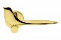 Twitty Maniglia Oroplus per Porta su Rosetta a Forma di Uccello Animale by Colombo Design