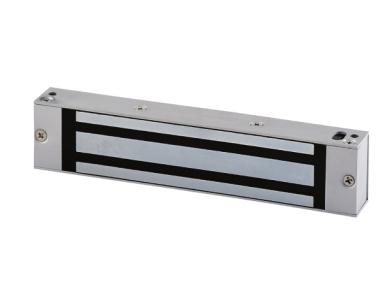 V1SR 180Kg Mini Fermo Elettromagnetico da Applicare 12/24V DC + Reed di Stato CDVI