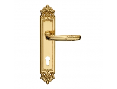 Virgo Serie Epoque forme Maniglia per Porta su Placca Frosio Bortolo Ornamentale