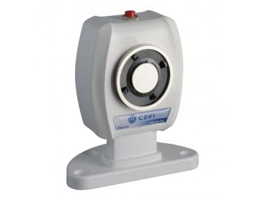 VIRP5024 Elettromagnete da Pavimento 50Kg 24V DC Ferma Porta da Muro Contropiastra Fissa e/o Snodabile CDVI