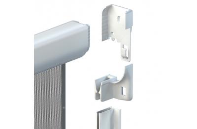 Zanzariera Fast 50 Verticale a Molla Standard Cassonetto 50mm Zanzar Sistem