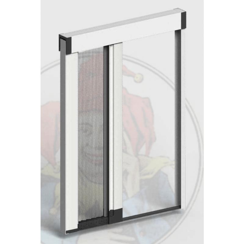Zanzariere su misura per porte finestre jolly zanzar for Zanzariera porta finestra