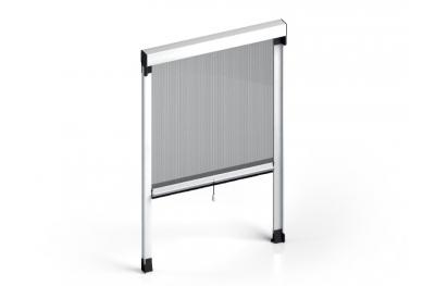 Zanzariera Quadra Verticale a Molla Standard Cassonetto 50mm Zanzar Sistem