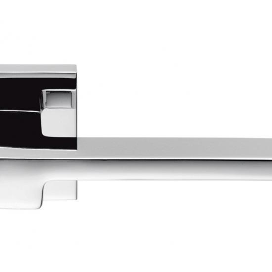 Zelda Cromo Lucido Maniglia Per Porta Su Rosetta Designer Jean Marie M